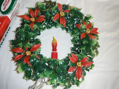 Electric Christmas Wreaths