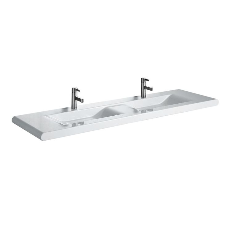 WASHBASINS | LAUFEN Countertop washbasin, without overflow hole