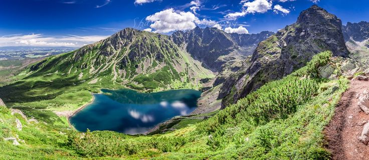 Czarny staw gąsienicowy in Tatra Mountains - Czarny staw gąsienicowy in Tatra Mountains