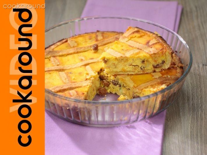 crostata classica con pinoli e canditi