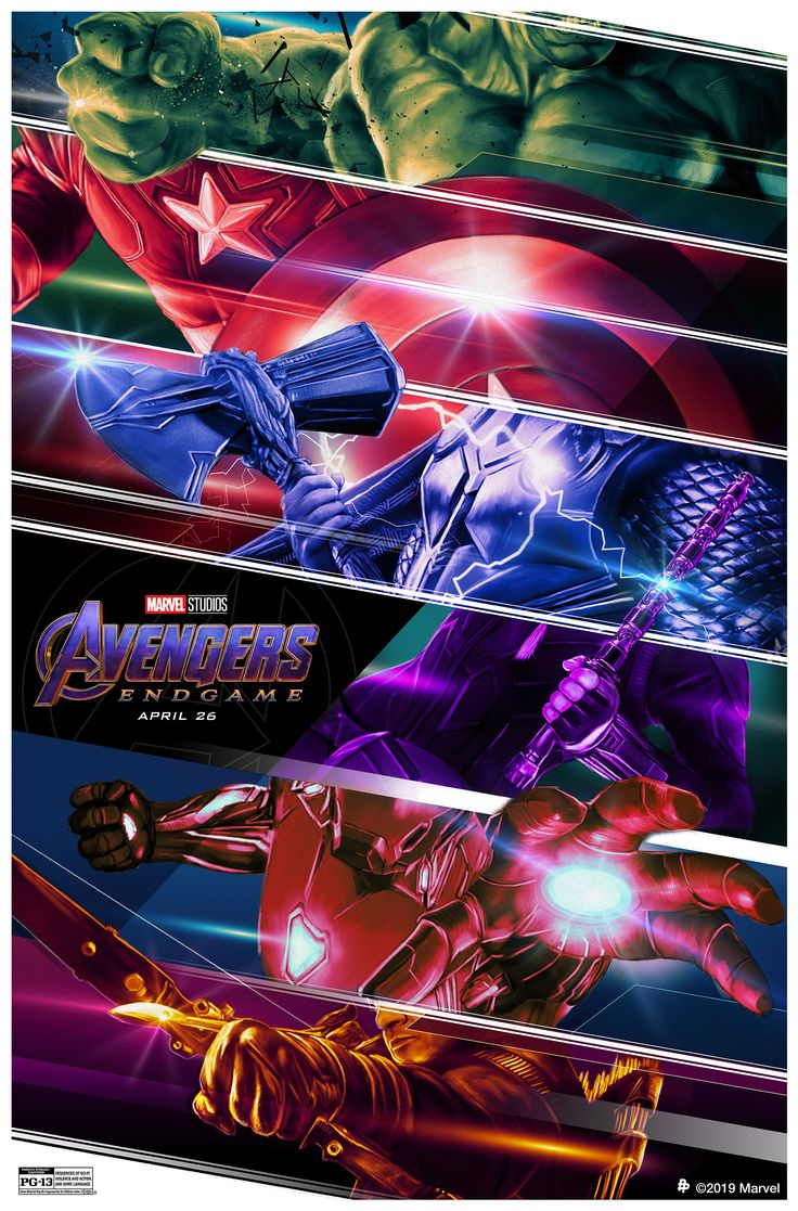 Here's your look at the Marvel Studios' #AvengersEndgame -inspired poster by…