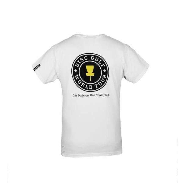 World Tour Mens Tee  01 - Dude Clothing -   Disc Golf Clothing and Apparel
