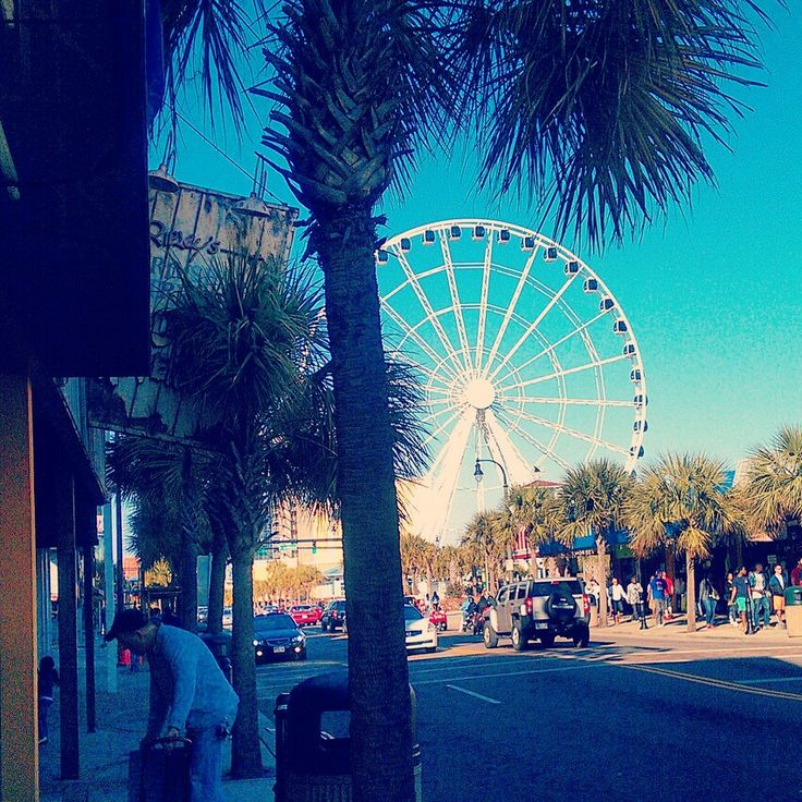 The skywheel at Myrtle Beach South Carolina