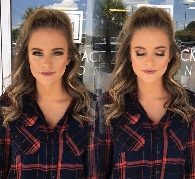 Classy and Clean Neutral Glam | 20+ Homecoming Dance Makeup Ideas Guaranteed To Win You The Crown