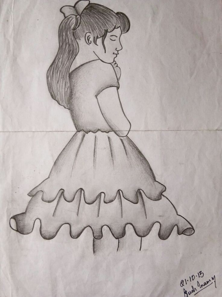 My first pin!!  ❤❤ A very old sketch.   21.10.2013