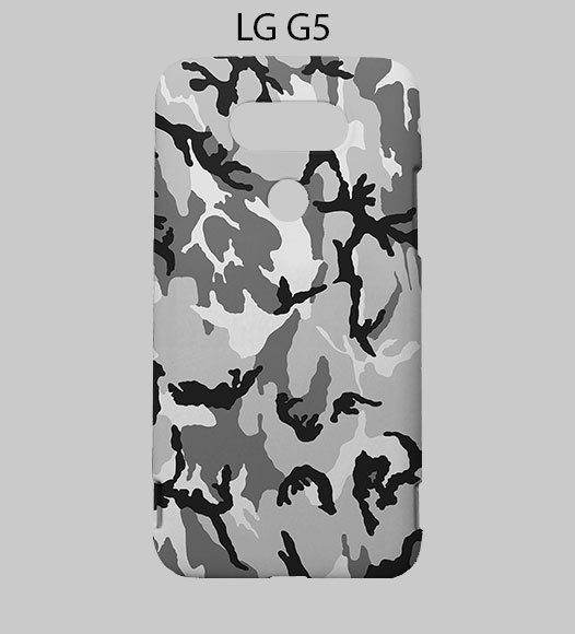 Snow Camo LG G5 Case Cover