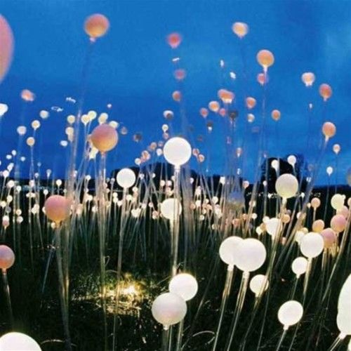 small lights in ballons for a cheaper option? cool outdoor lighting ideas - Google Search