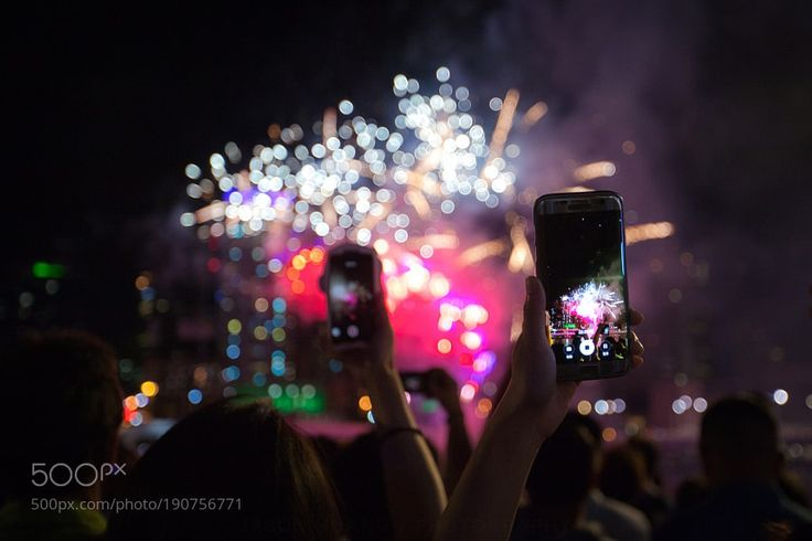 New Year Fireworks at Brisbane