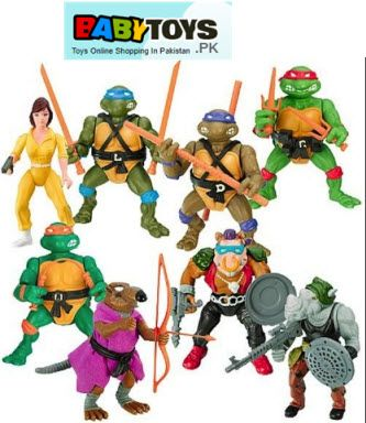 Surprising and Fun Ninja Turtle Toys for Kids in Pakistan | Baby Toys Online: Buy Toys For Kids In Pakistan