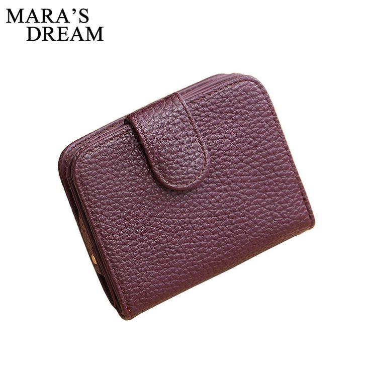 Женская мода Черный Кожаный Бумажник Портмоне Мешок Денег Маленький бумажник и Кошелек Мини Молния Hasp Короткая Леди Кошелек Crad держатель #men, #hats, #watches, #belts, #fashion, #style