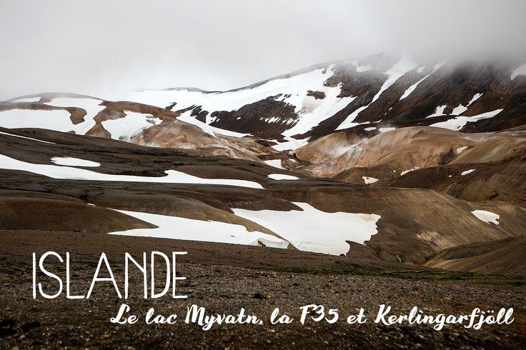Islande #3 : Au paradis de la géothermie, le long du lac Myvatn et de la F35