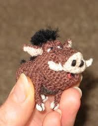 Lion King Amigurumi : Lion King - Pumba Amigurumi Pinterest Crochet ...
