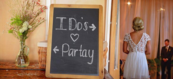 'I do' chalkboard...  #lightspace #lightspacewedding