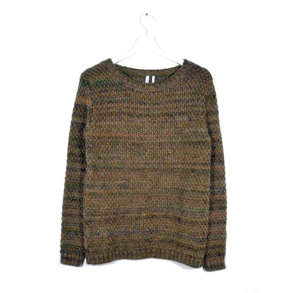 READY TO FISH Trape Brown Melange Sweater | La Luce