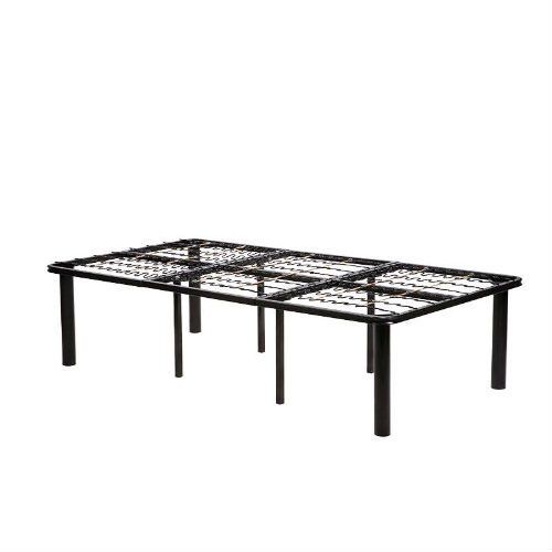 twin xl metal platform bed frame no boxspring necessary