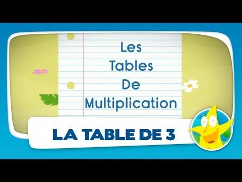 Table de multiplication 2 3 4 5 6 7 revisions tables de for Les table de multiplications