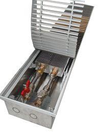 Внутрипольные конвекторы с вентилятором EVA COIL - KX Внутрипольный конвектор Артикул: нет Внутрипольный конвектор EVA COIL - KX с естественной конвекцией, без вентилятора, решетка анодированная (серебристая). Гарантия производителя.