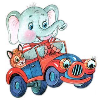 Cartoon Elephant Clip Art | Circus Elephant - Cute Cartoon Elephant Clip Art