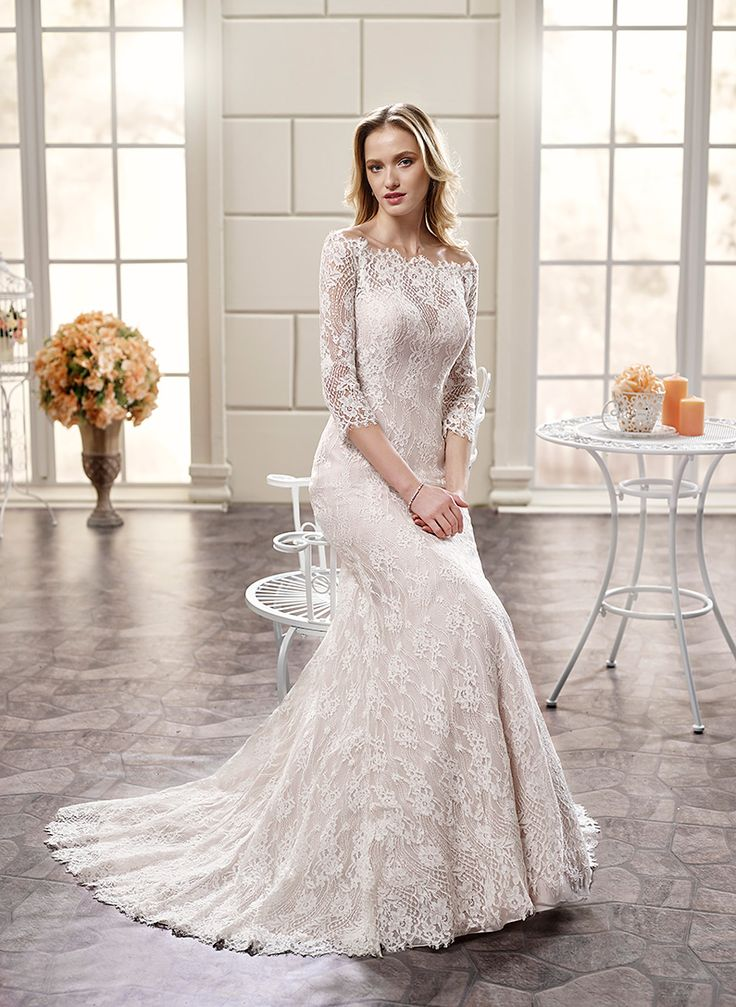 21 best eddy k adk 2016 collection images on pinterest for Chantilly lace wedding dress