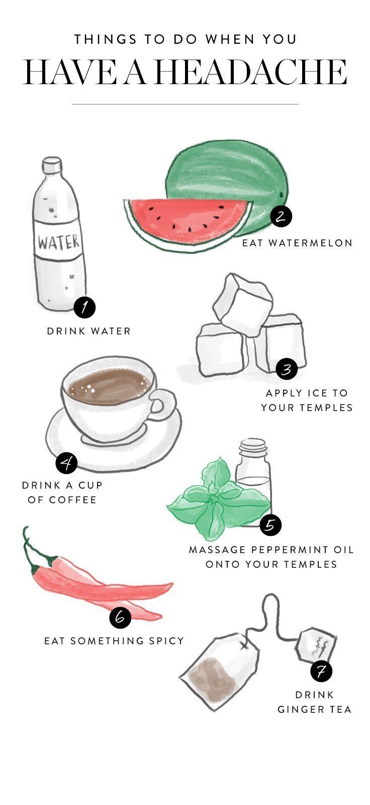 Einige Dinge zu tun, wenn Sie die schlimmsten Kopfschmerzen jemals haben