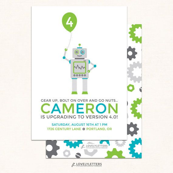 10 best STEM party images on Pinterest | Robot, Birthdays and ...