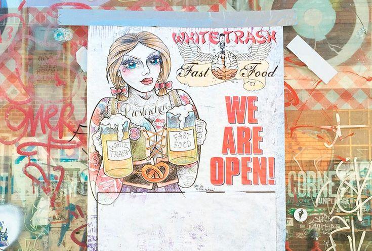 White Trash es una suma de todo lo que hace de Berlin Berlin. Es de todo a la vez. Vas a cenar y sin querer las luces bajan y empieza la fiesta.