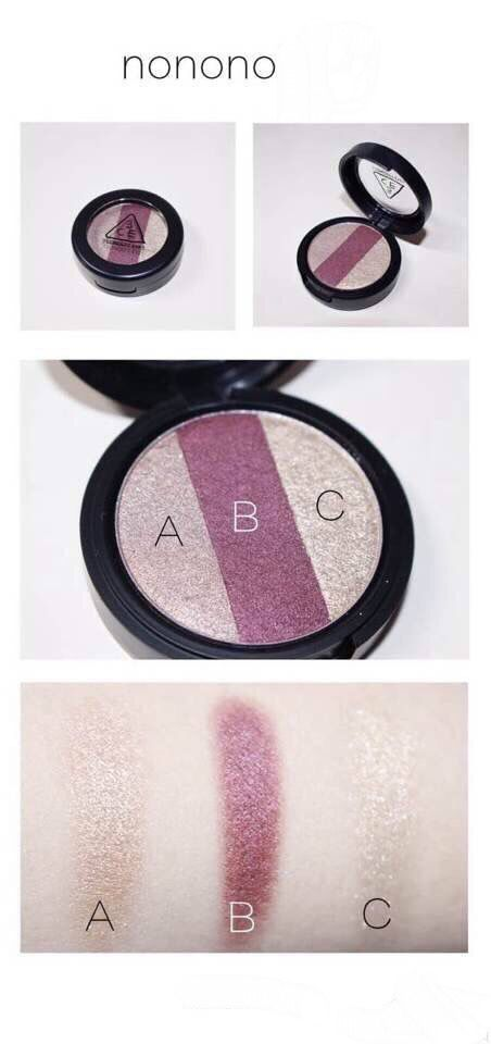 3ce is a Korean makeup brand . Many Korean girls love this brand since the quality is really nice. Nonono is one of their product of eyeshadow and this one is really popular.