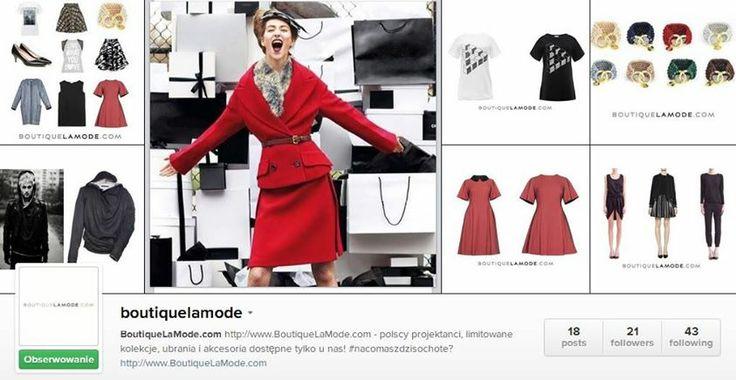 Śledzicie nasz Instagram? Jeżeli jeszcze nie, to koniecznie zacznijcie, zapraszamy: http://instagram.com/boutiquelamode #nacomaszochoteboutiquelamode.com/