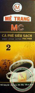 Вьетнамский МОЛОТЫЙ кофе (ME TRANG) - НОМЕР - 2 из города НЯЧАНГ - 250 гр. Пр-во Вьетнам.