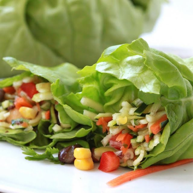 Sweet Corn Salad Wraps Recipe — Dishmaps