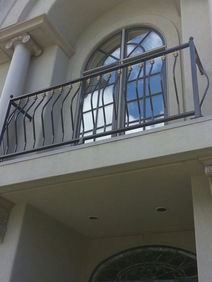 juliet balcony railing kilarney green bellevue wa