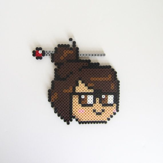 Its Mei from Overwatch! Ice wall, coming up.  This sprite is 100% handmade from fused perler beads and is perfect to personalize a space or give to someone special!  If you have any suggestions for other items you would like to see in The Perler Witch's shop, send me a message!  *********************************  MEASUREMENTS: - 5.75 x 5.75 in (l x w) - 1 oz  ADD-ON: - magnet (attached to back of sprite) - NO EXTRA CHARGE  SHIPPING: Items will be shipped within 2-5 days of the order being…
