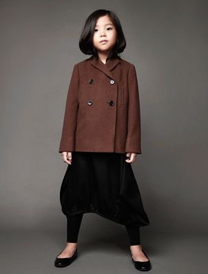 classic children's fashion from Japan showing at Playtime Tokyo