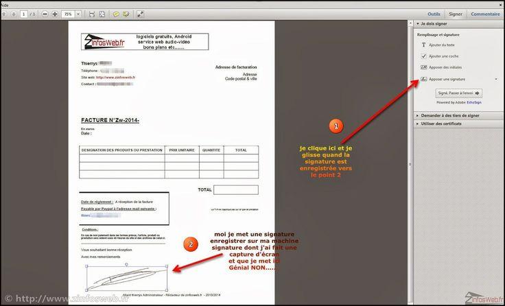 Mettre sa signature dans un document PDF [Tutoriel]
