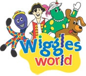 The Wiggles World with the Wiggles characters.