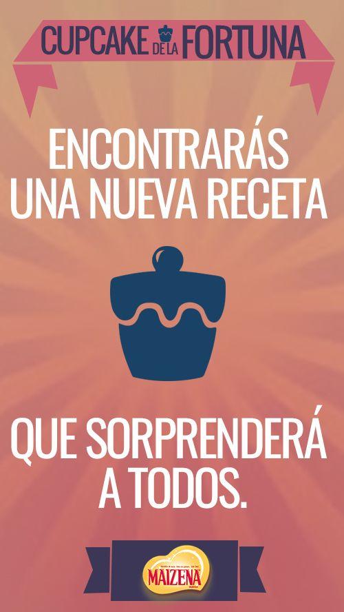 Las cosas ricas siempre traen felicidad!  #cupcakedelafortuna.