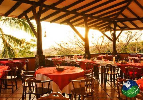 Hotel Hacienda Guachipelin in Rincon de la Vieja Costa Rica. The Hotel Hacienda Guachipelin is an ecological lodge hidden away in the rainforest of the Rincon de la Vieja Volcano national park, 22 kms away from Liberia.
