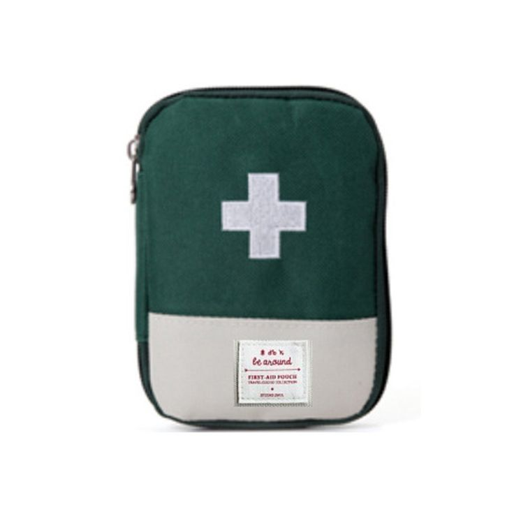 New 3colors Outdoor First Aid Emergency Medical Kit Survival Wrap Gear Hunt Travel Accessories Bag small medicine kit SN160405