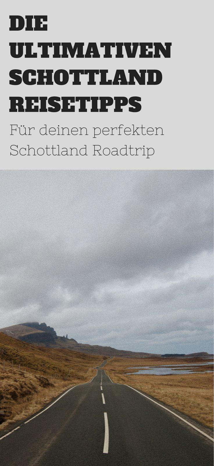 Erlebe den perfekten Roadtrip mit diesen Schottland Reisetipps! Lieber die Westküste oder doch in den Norden? Finde heraus welche Route für dich Sinn macht und erlebe einen unvergesslichen Urlaub. Los geht's!