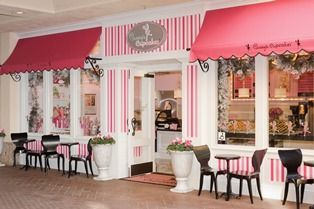 Beautiful bakery, cupcakes are pretty tasty too!