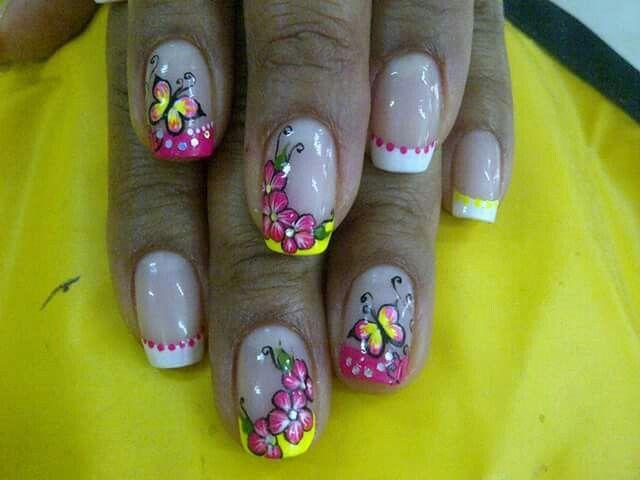 119 best uñas images on Pinterest | Diseño de uñas, Arte de uñas y ...