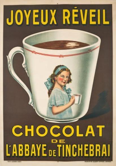 Joyeux réveil - Chocolat de l'abbaye de Tinchebrai -