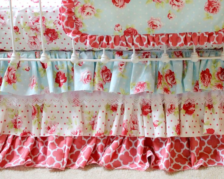 Shabby Chic Baby Bedding 63 best lottie da baby bedding images on cribs babies