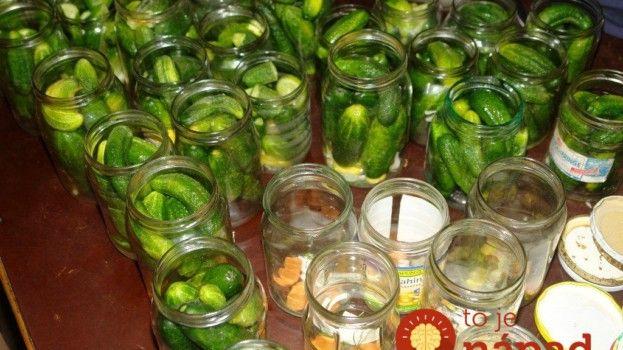 Najlepší recept na zavárané uhorky od tety z Moravy: Skúsila som pred rokmi a odvtedy robím len podľa tohoto receptu!