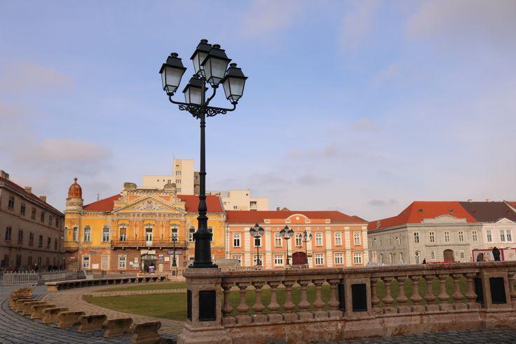 Unirii Square, Timisoara, Romania. Credits: Monica Tanase
