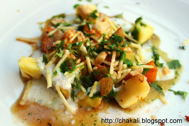 Samosa Chat in Marathi Serves: 3 persons Time: 30 to 40 Minutes (Excluding Samosa preparation) I ngr...