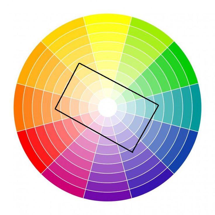 Схема 5: комбинация от четири цвята