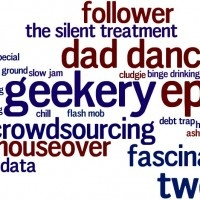 Tweet geekery and epic crowdsourcing: an Oxford English Dictionary update