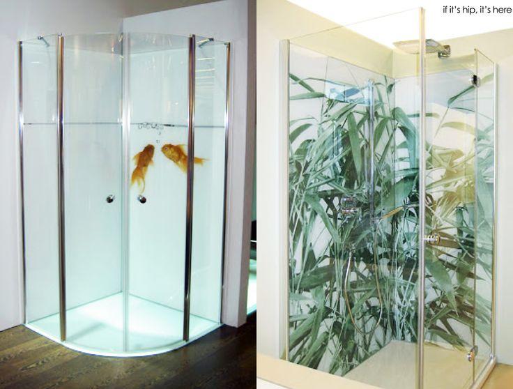 Digitally Printed Glass Shower Enclosures