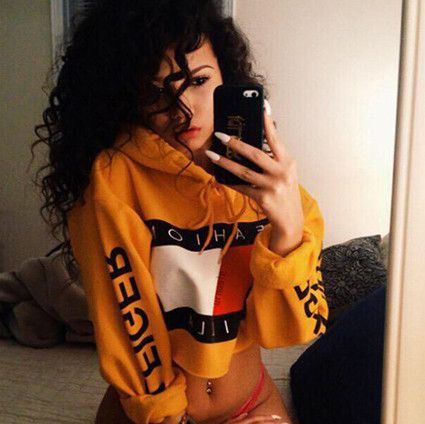 New arrive Warm letters printed hooded fleece Jackets women clothes sexy street college sweatshirts swag sexy clothes